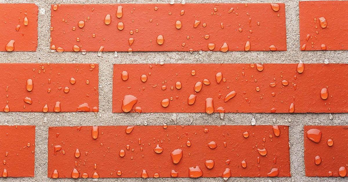 Гидрофобизация – защита фасада здания